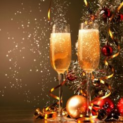 sylwester-szampan